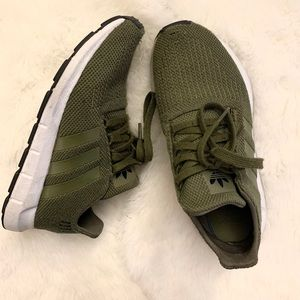 Olive Adidas Swift Sneakers